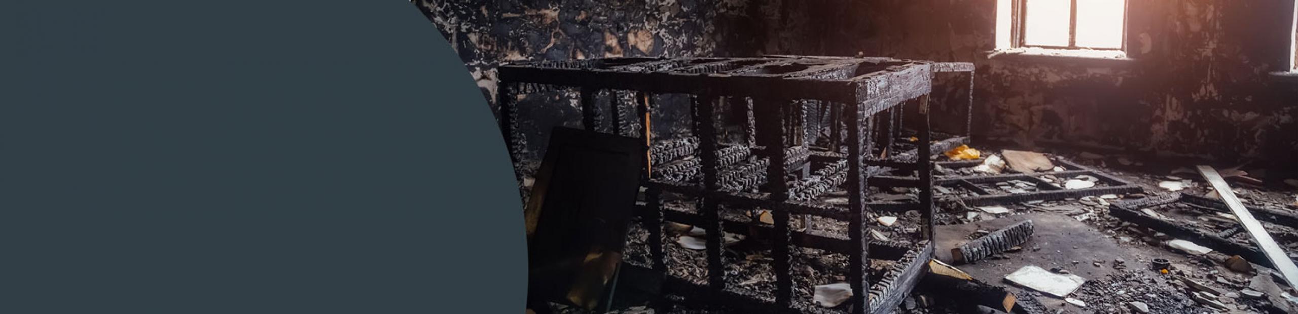 Fire & smoke damage cleaning camden