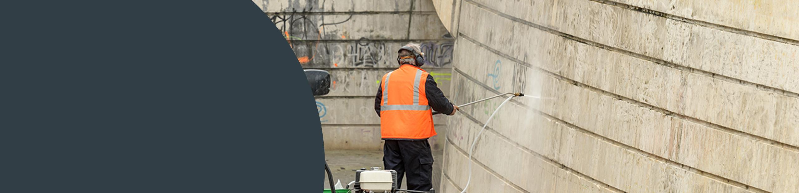 Graffiti Removal London Image