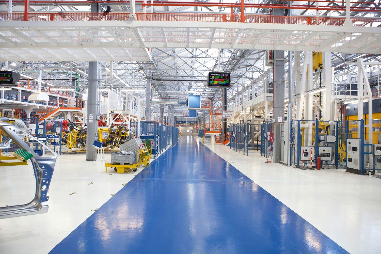 Clean organised warehouse