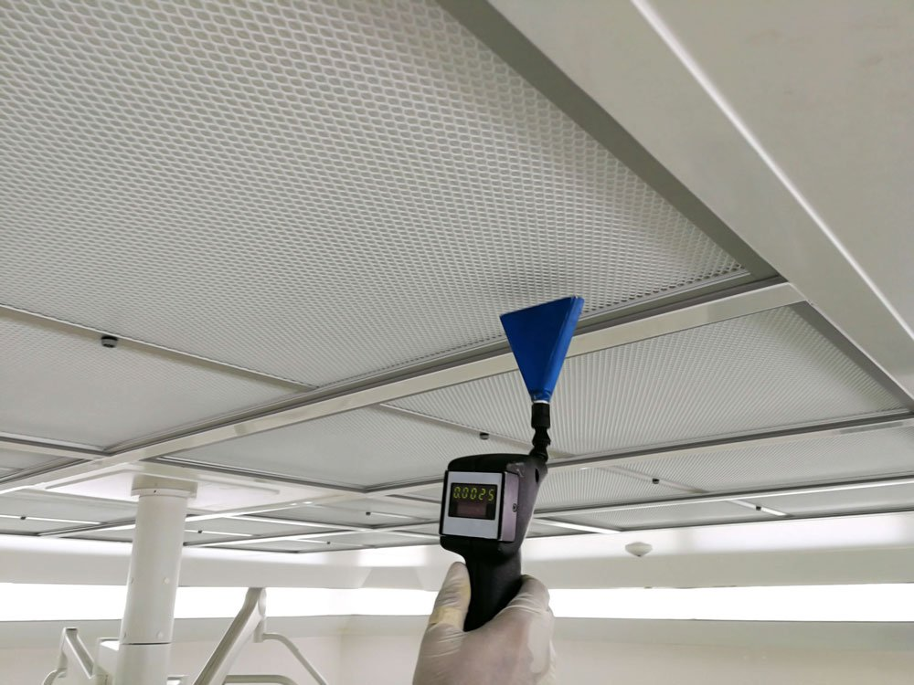Ceiling mould detection